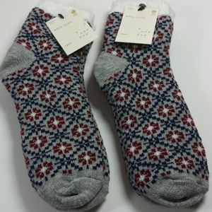 a new day cozy fuzzy  Ankle Socks  2 pair